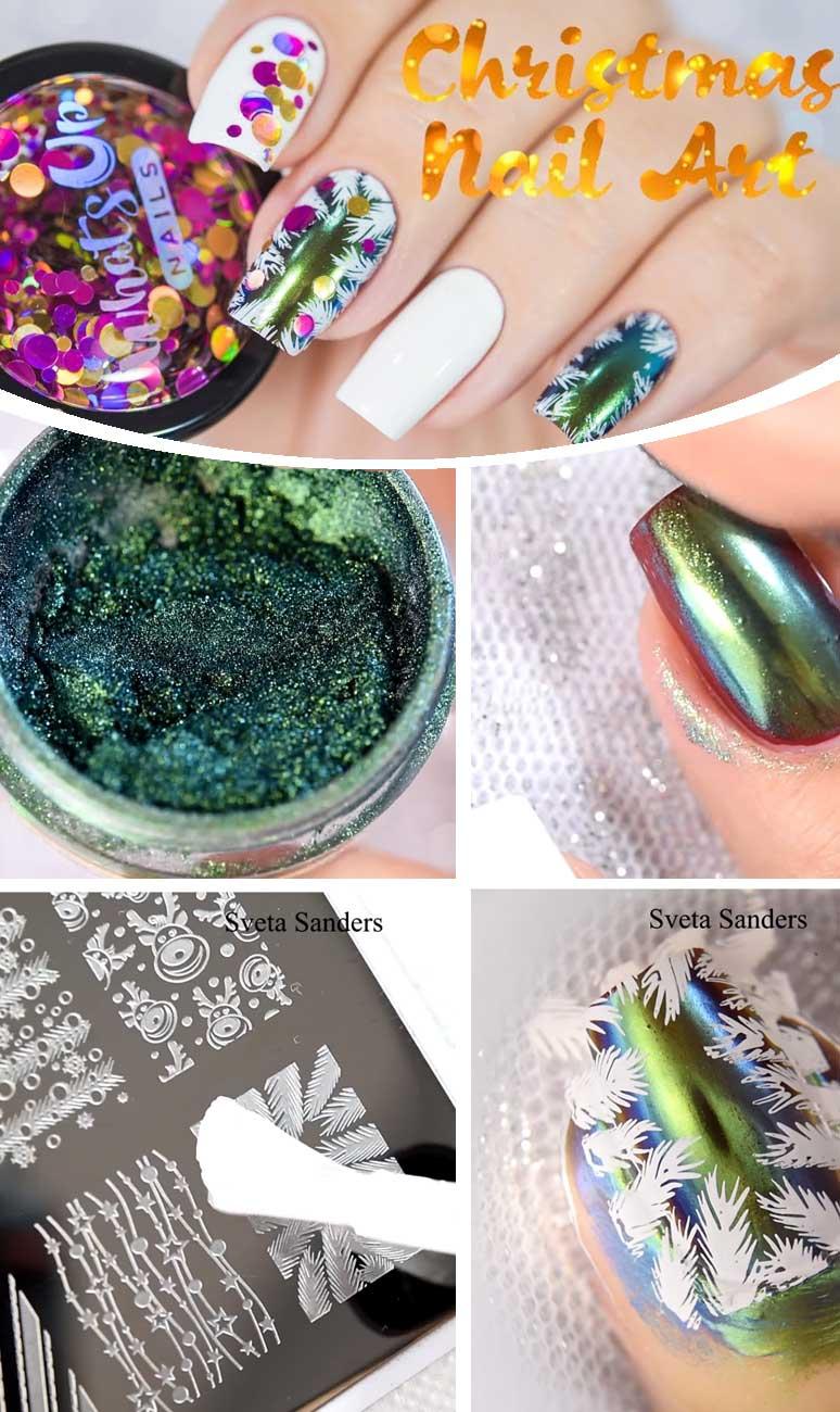 DIY Christmas Nail Art