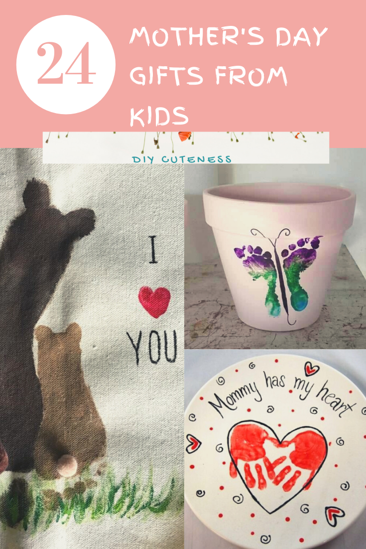 Diy Mothers Day Gifts Ideas From Kids