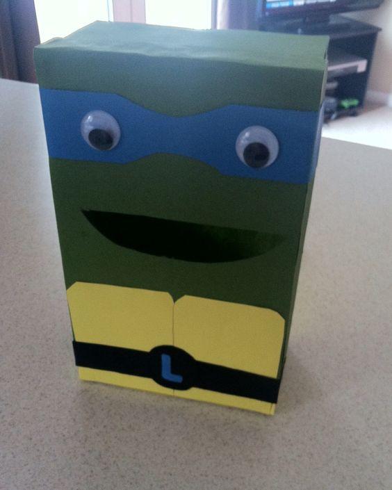 TMNT Valentines Box
