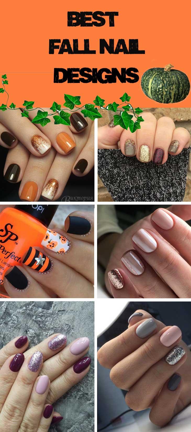Best Fall Nail Designs - DIY Cuteness