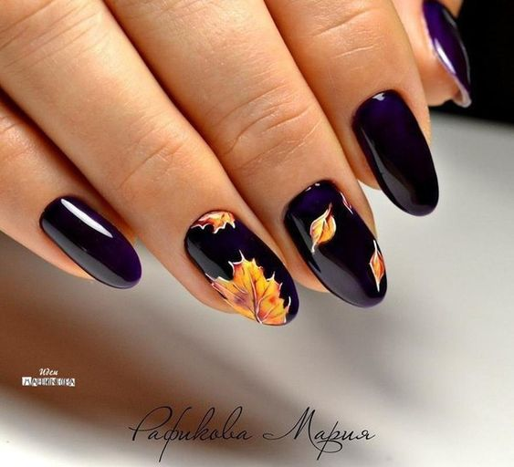 Black & Leaves