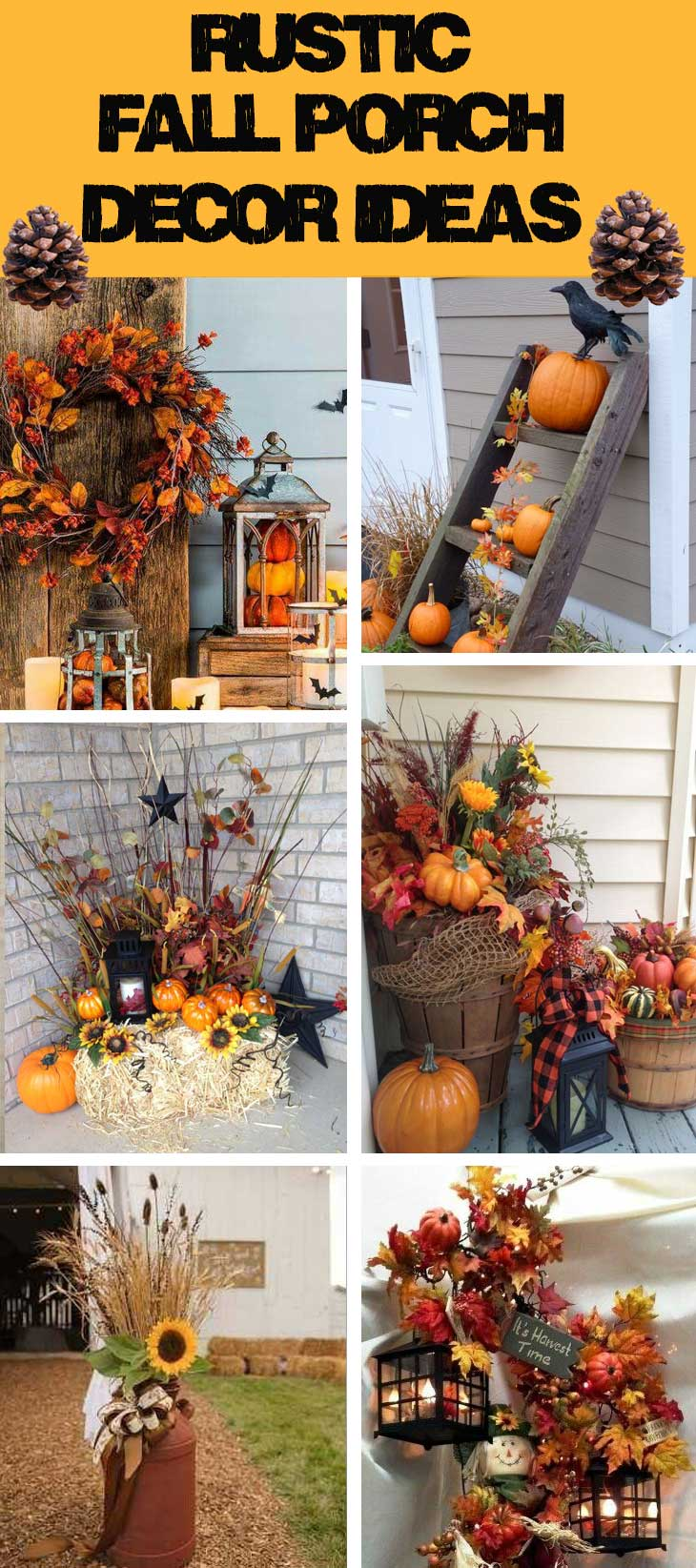 Rustic Fall Porch Decor Ideas Diy Cuteness