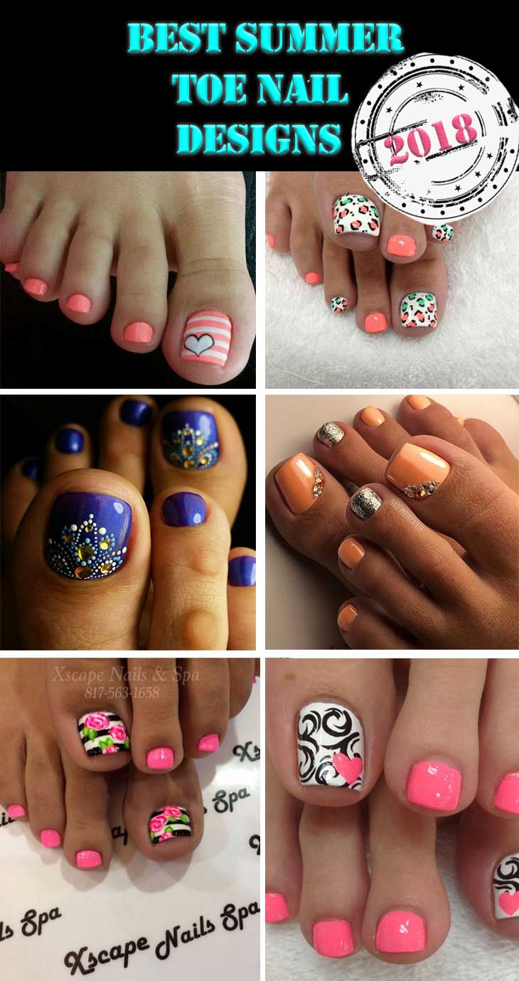 Best Summer Toe Nail Designs Diy Cuteness,Modern Interior Design Living Room Black And White