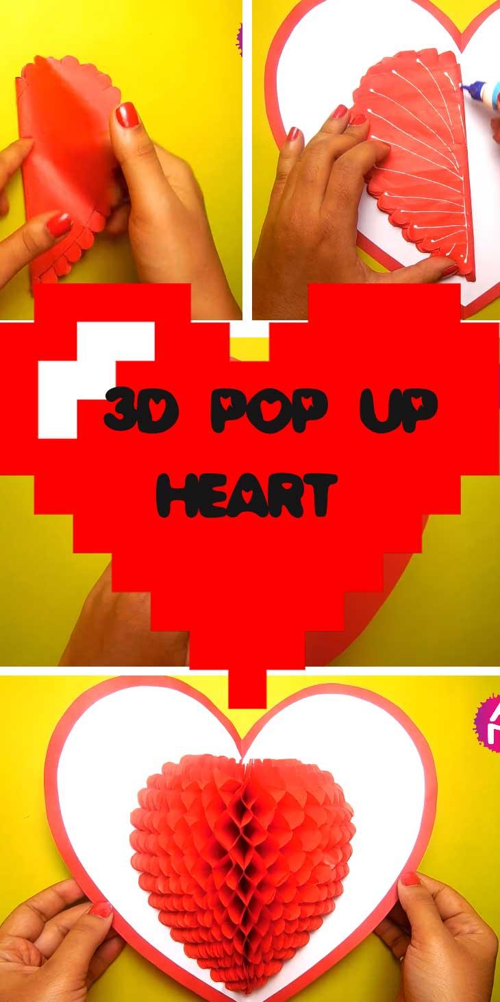 3D Pop-up Heart