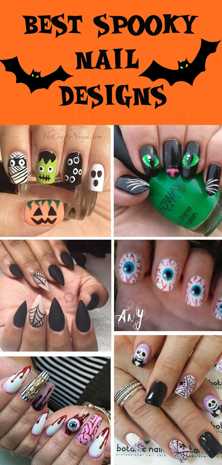 #halloween nails