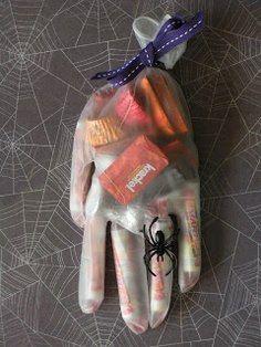 Hand Treat Bag