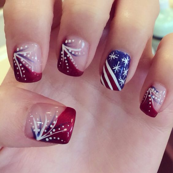 Easy Diy 4th of July Nails for Kids - DIY Cuteness