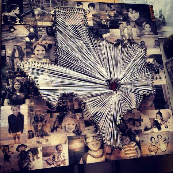String Art Collage