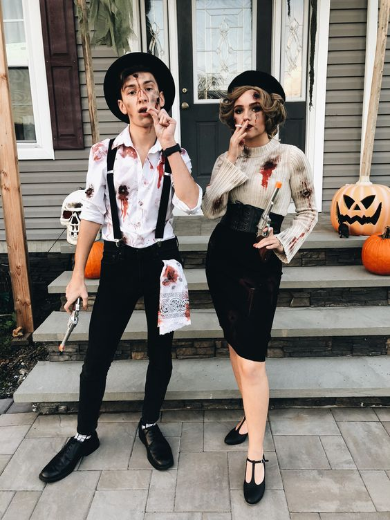 Dead Bonnie and Clyde