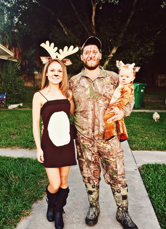 Deer + Hunter