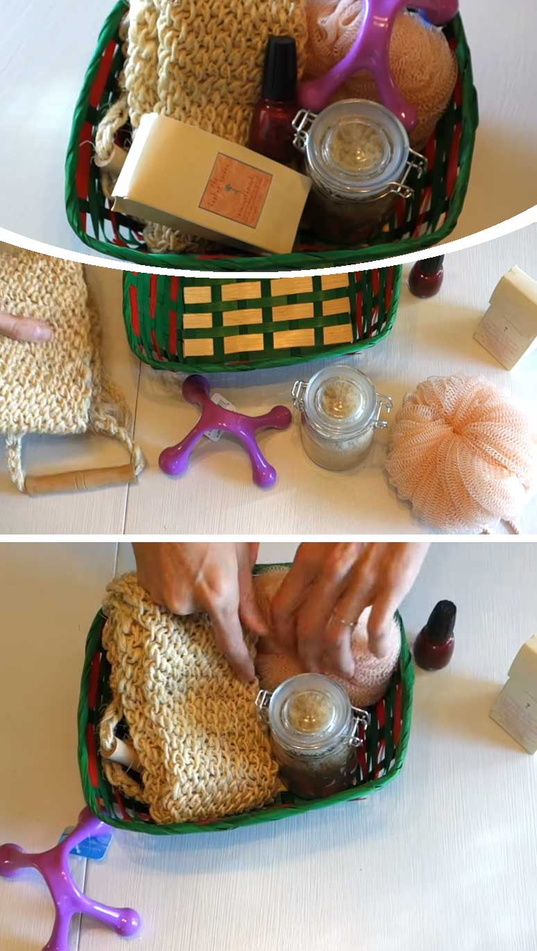 Pampering Gift Basket