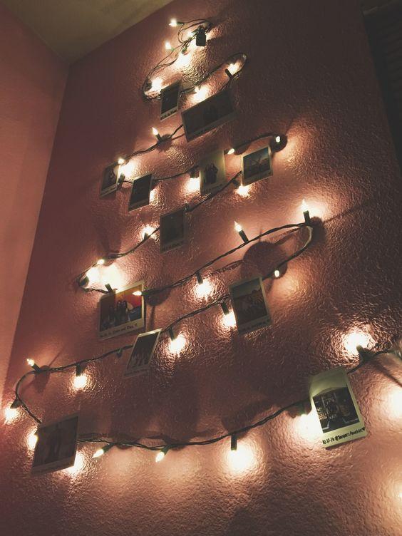 Christmas Tree Polaroids