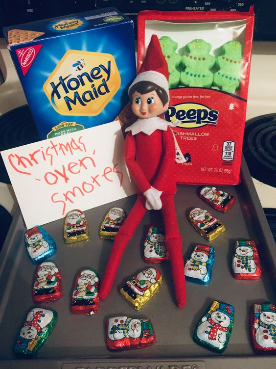 elf on the shelf returns ideas