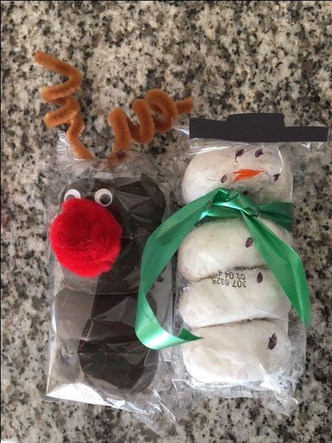 Donut Reindeer & Snowman