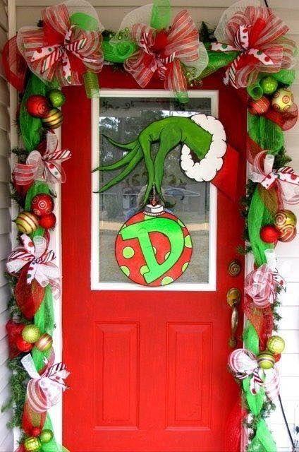 Grinch Door