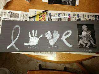 Love Hand & Footprint Art