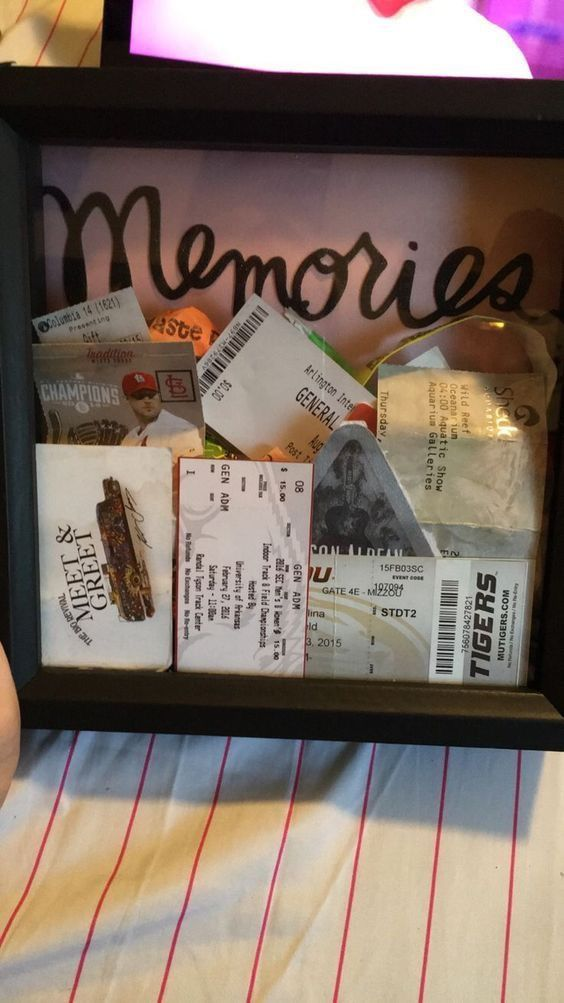 Memories Shadow Box