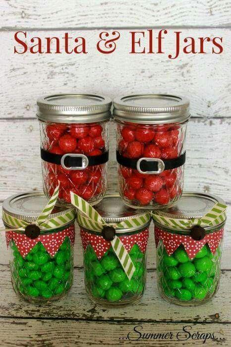 Santa & Elf Jars