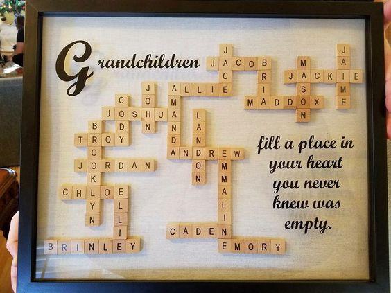 Scrabble Art