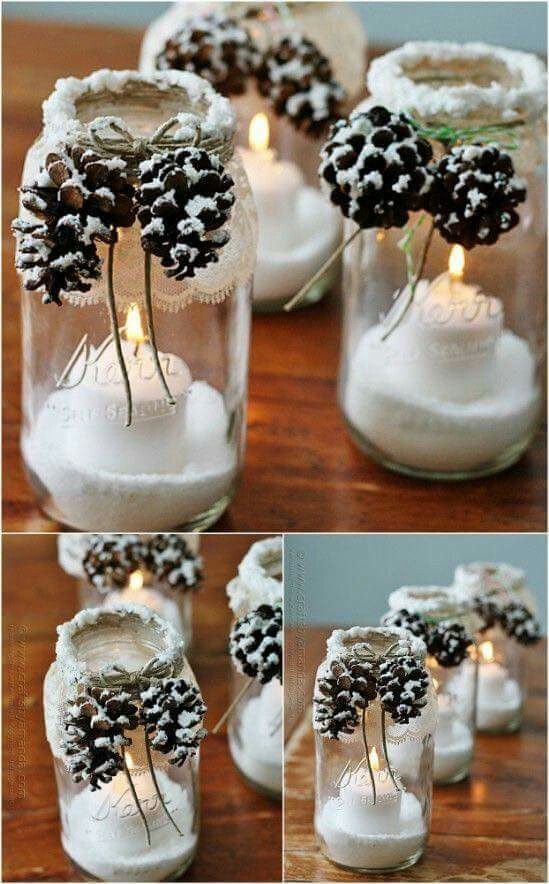 Diy Mason Jar Ideas For Christmas Diy Cuteness