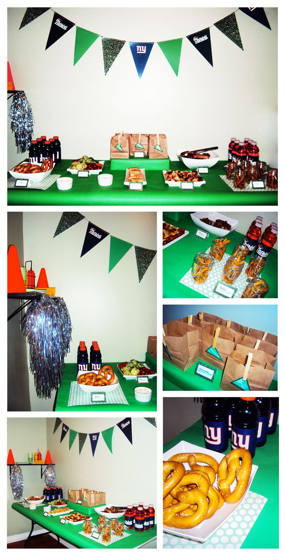 Supe rBowl Party Decor