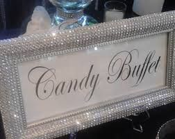 Candy Buffet Sign