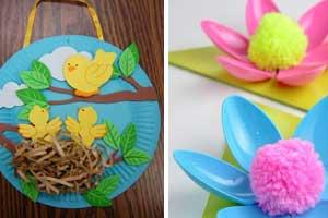 Diy Spring Crafts For Kids To Make Diy Cuteness