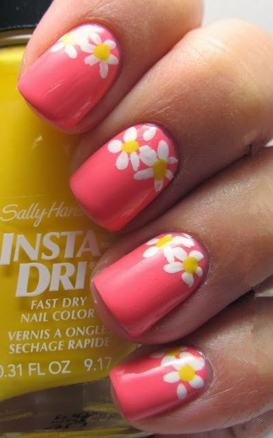 Pink with Daisies