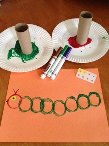 Caterpillar #springcrafts