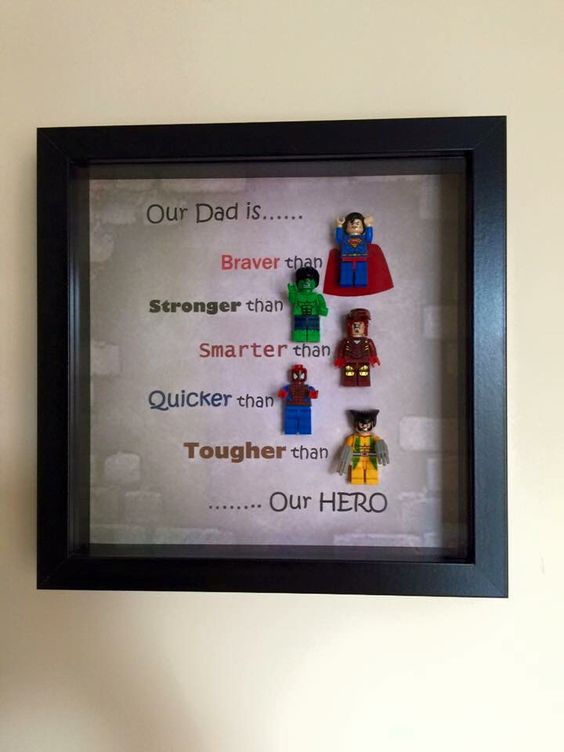 Superhero Dad Craft