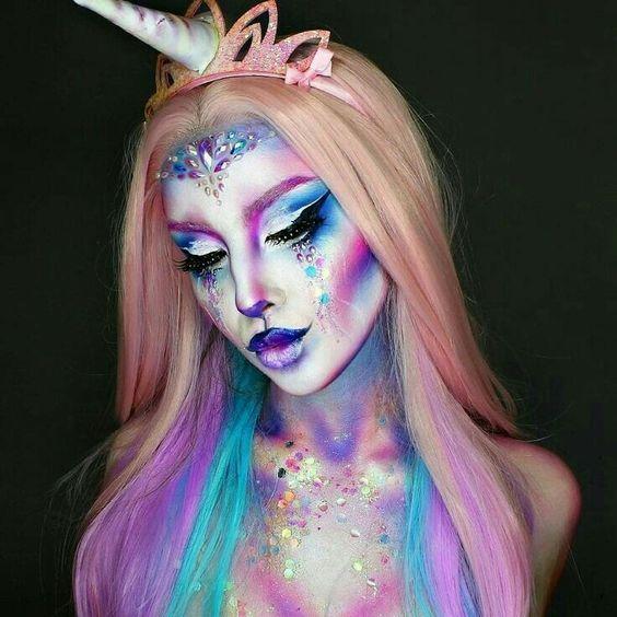 Fantasy Unicorn Makeup