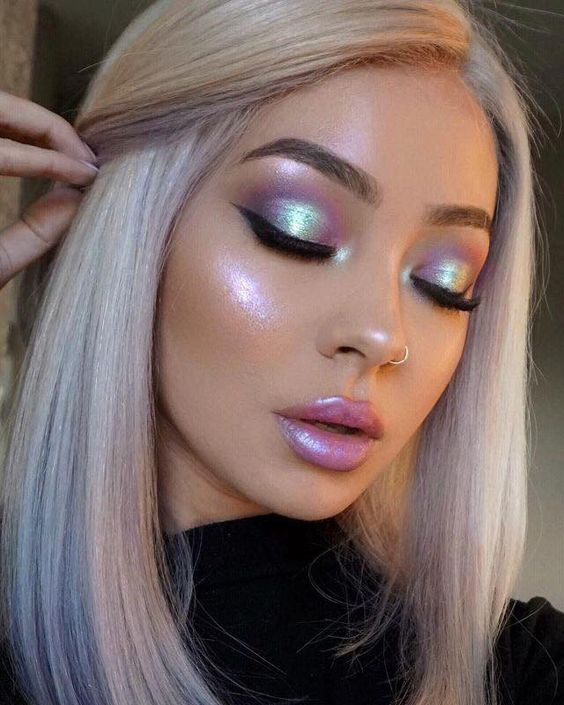 Unicorn Inspired Makeup