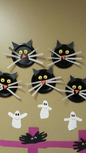 Paper Plate Cats