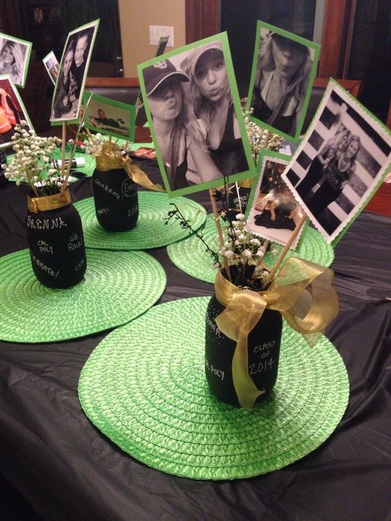 How to make a graduation party centerpiece