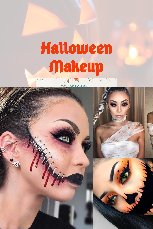 Diy Halloween Makeup For Women Diy Cuteness
