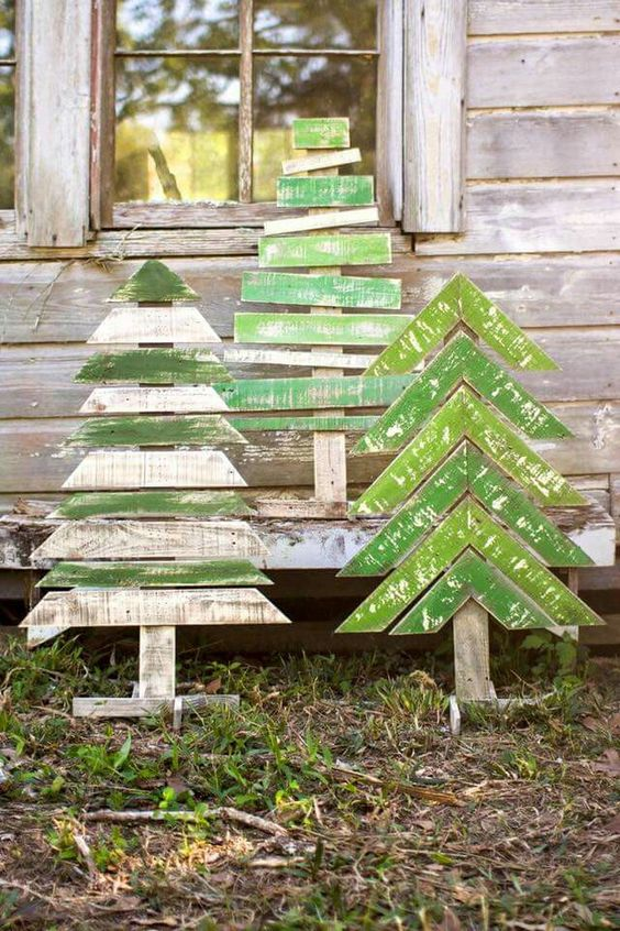 Graphic Pallet Trees
