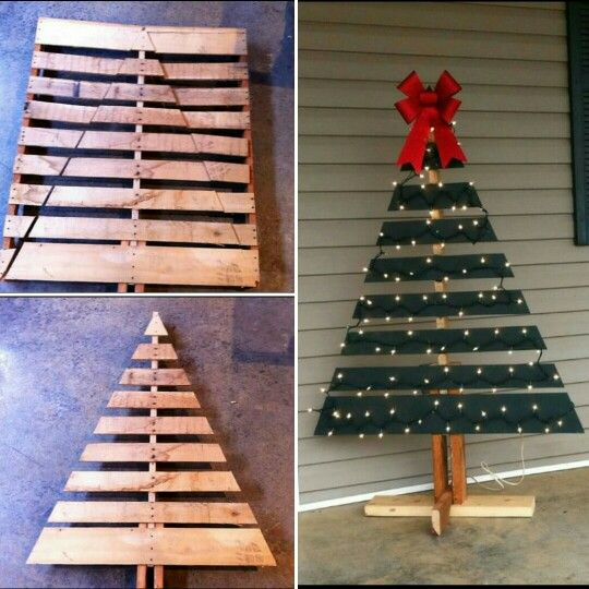 Pallet Tree Instructions