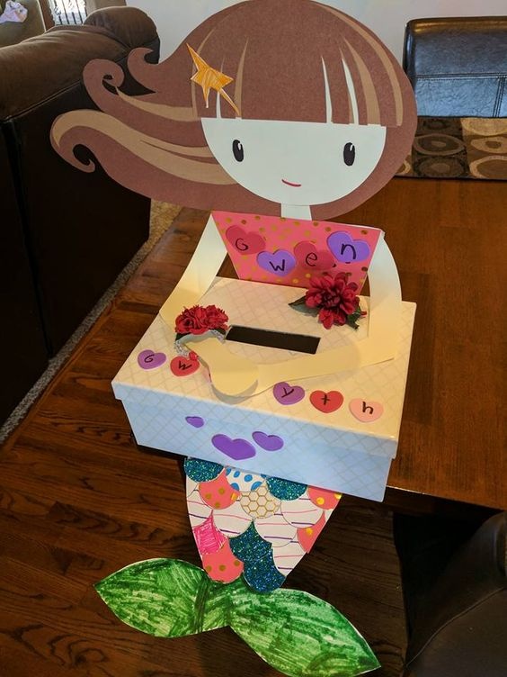 Mermaid Valentines Box