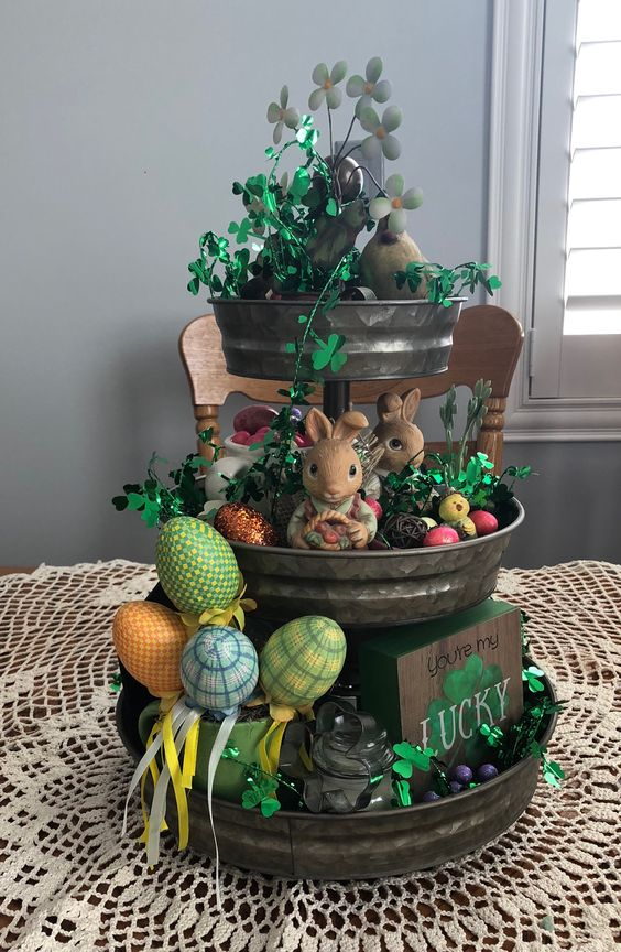 St. Patrick's Day, Spring, Easter Tray