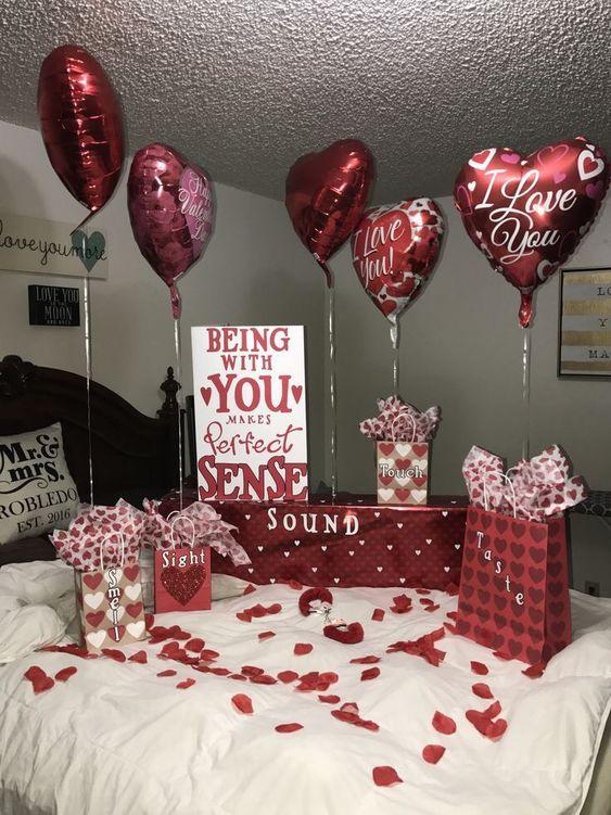 5 Senses #valentines