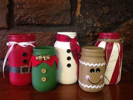Diy Mason Jar Ideas For Christmas Diy Cuteness