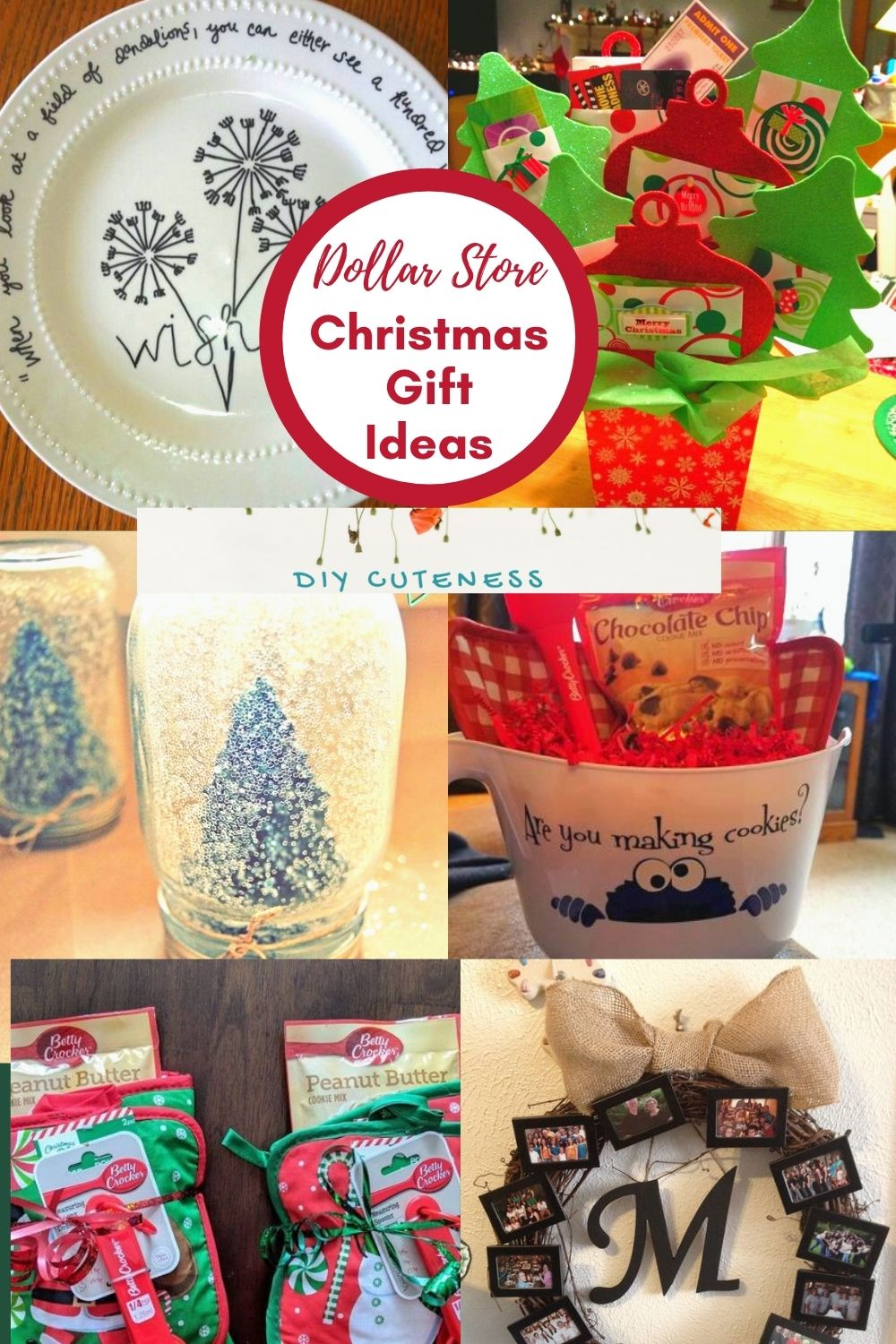 Dollar Store Christmas Gift Ideas