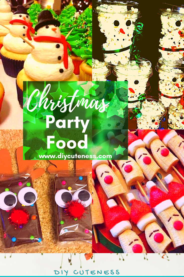 Christmas Party Food for Kids #christmas #recipes