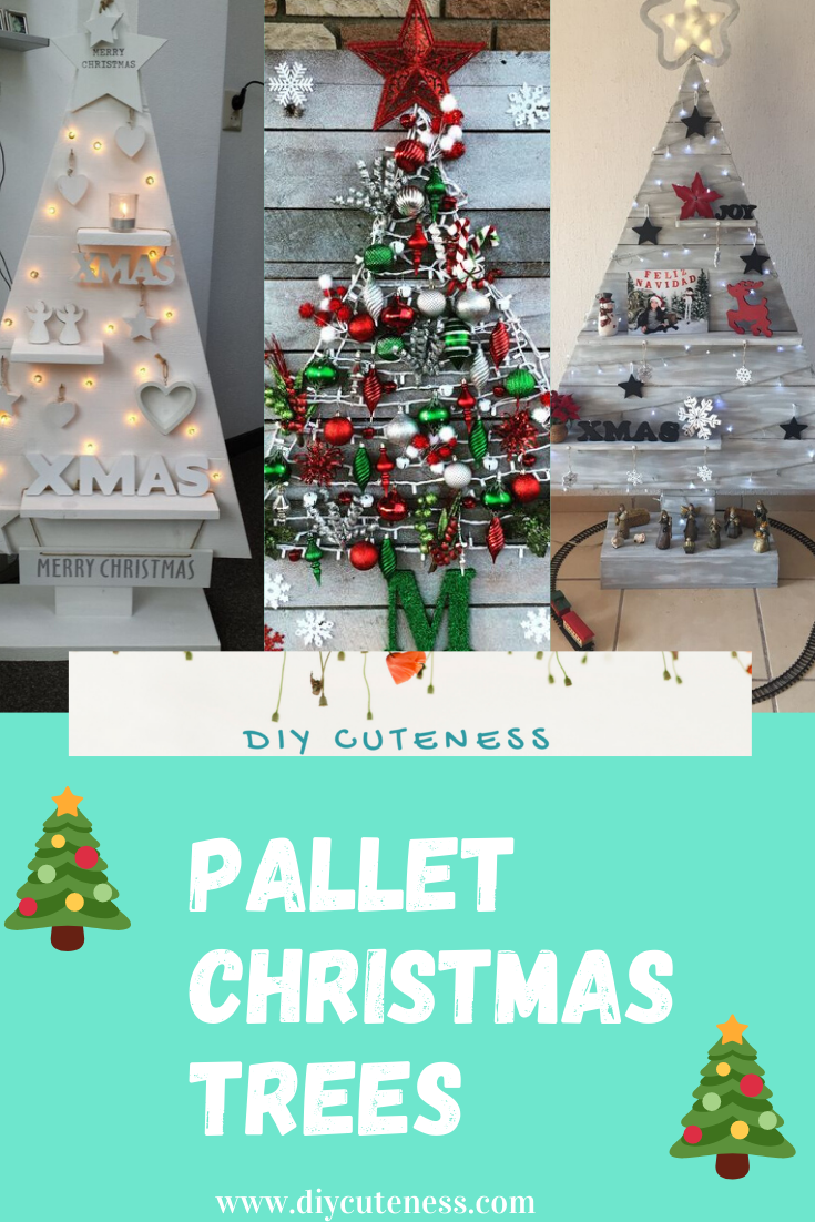 Diy Pallet Christmas Tree Ideas Diy Cuteness