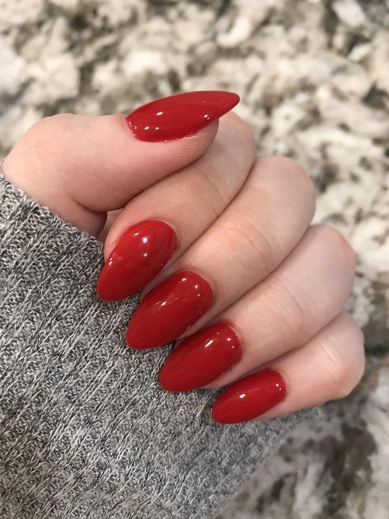 valentines day acrylic nails #valentinesnails #nailart #nails