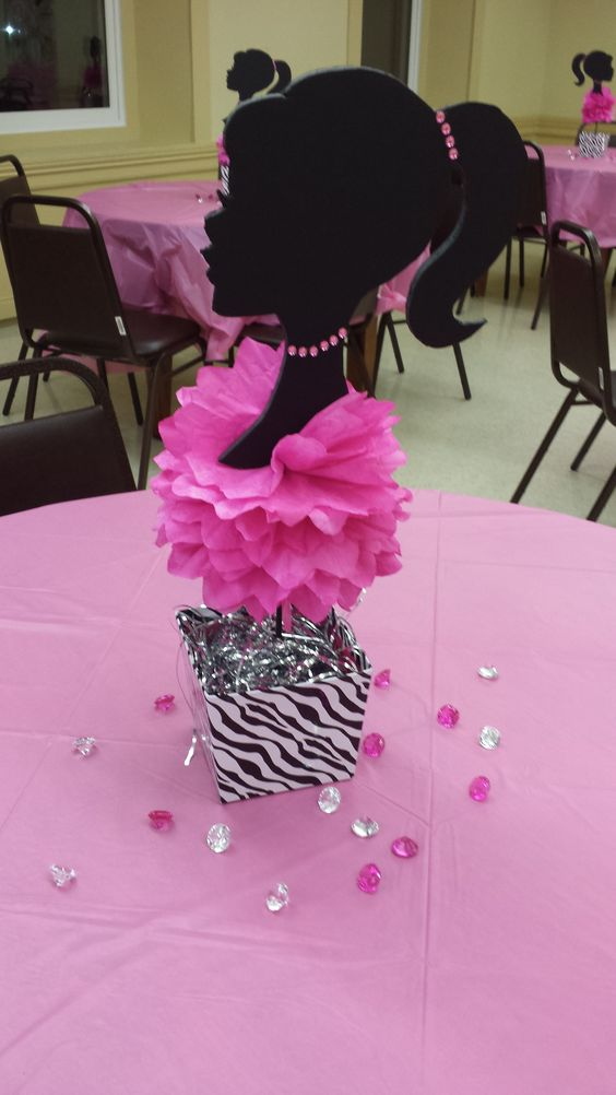 barbie themed bachelorette party