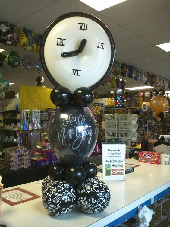 #new years eve balloons
