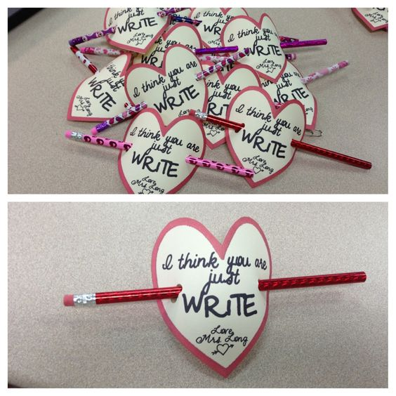 Valentines Gifts from Teachers to Kids