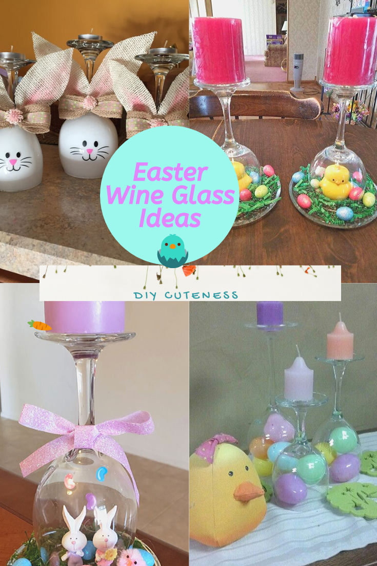 Easter Wine Glass Ideas