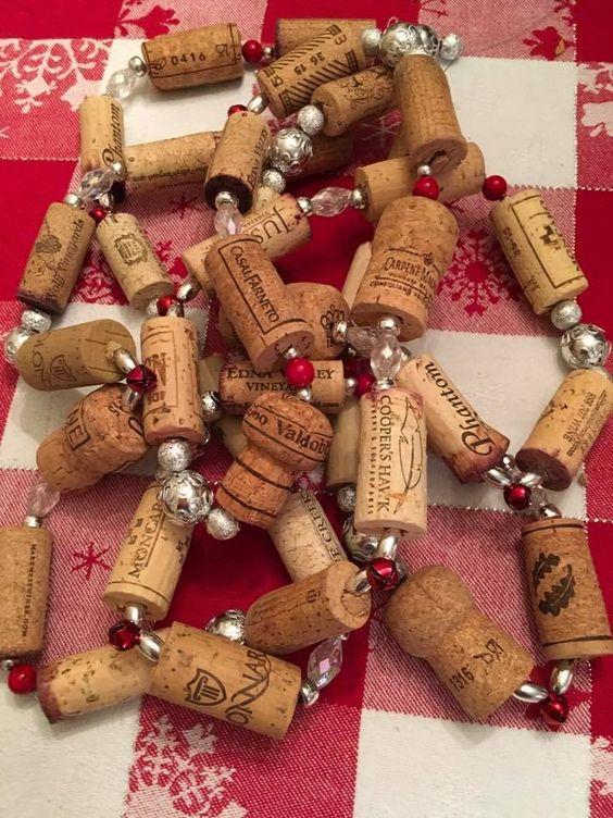 Wine Cork Christmas Crafts